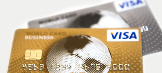 Handleiding Visa World Card Business